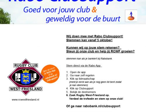 Rabo Club Support!